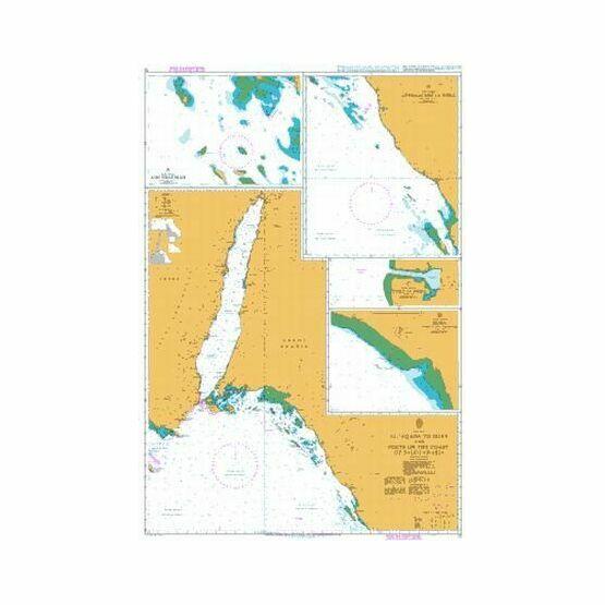 12 El `Aqaba to Duba and Ports on the Coast of Saudi Arabia Admiralty Chart