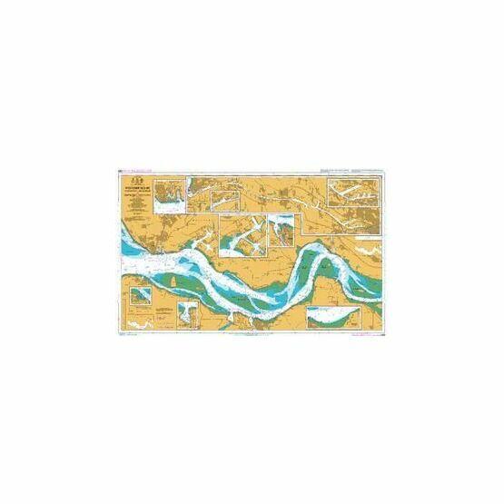120 Vlissingen to Baalhoek and Terneuzen Admiralty Chart