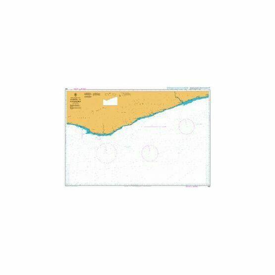 1362 Harper to Sassandra Admiralty Chart