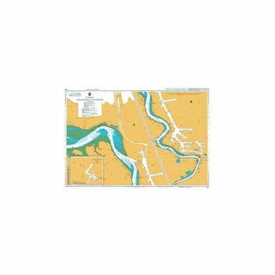 139 Westerschelde Valkenisse to Antwerp Admiralty Chart