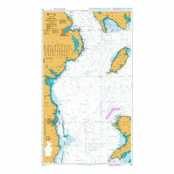 1411 Irish Sea - Western Part Admiralty Chart
