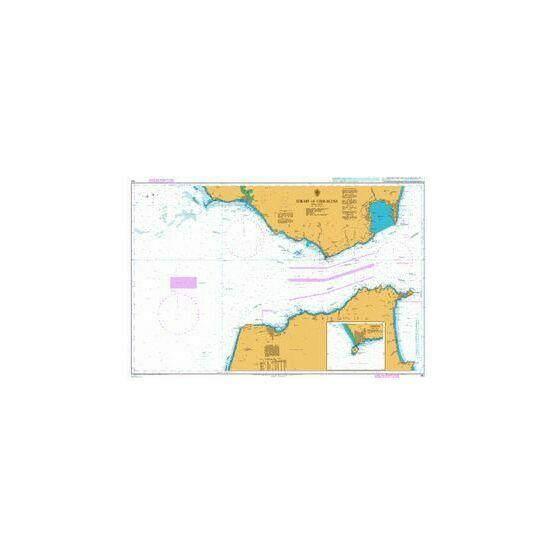 142 Strait of Gibraltar Admiralty Chart