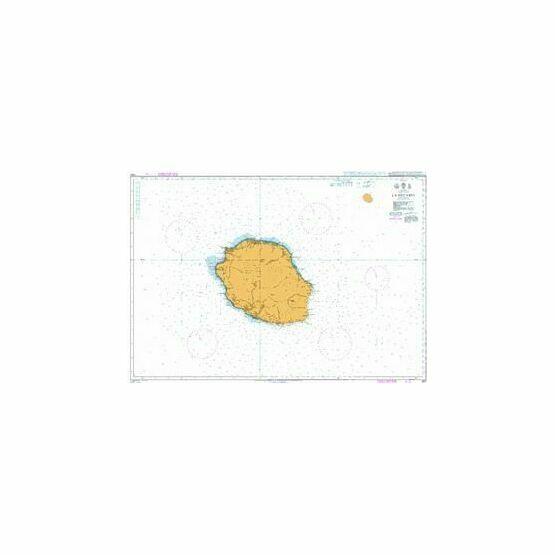 1497 La Reunion Admiralty Chart