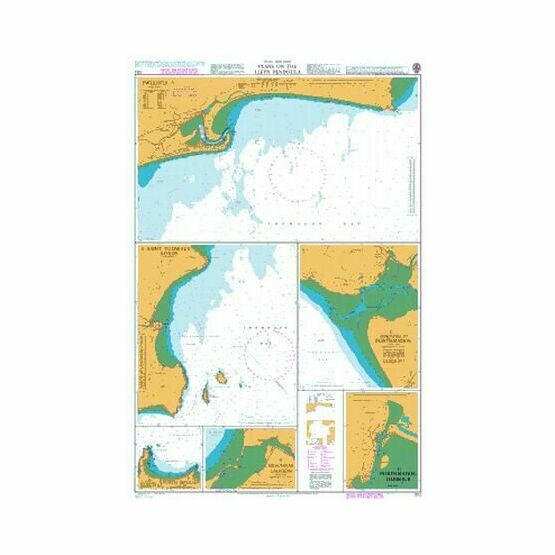 1512 Plans on the Lleyn Peninsula Admiralty Chart