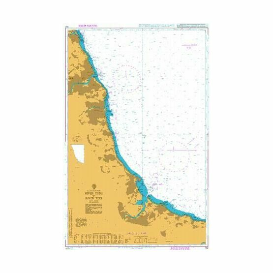 152 River Tyne to River Tees Admiralty Chart
