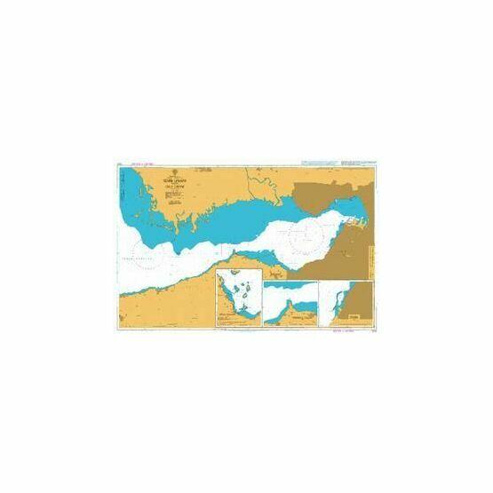1522 Izmir Limani with Urla Limani Admiralty Chart