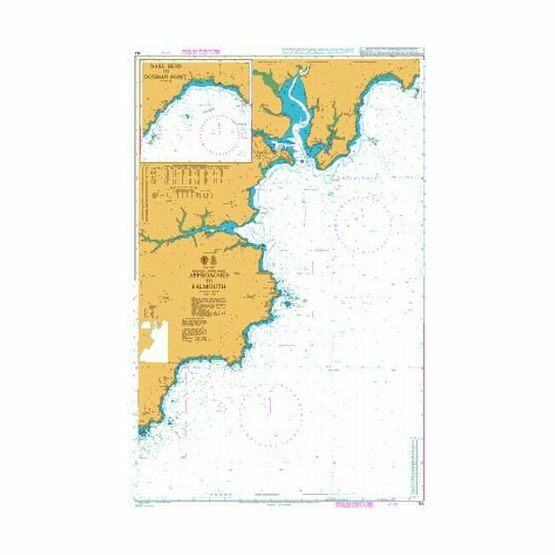 154 Approaches to Falmouth Admiralty Chart