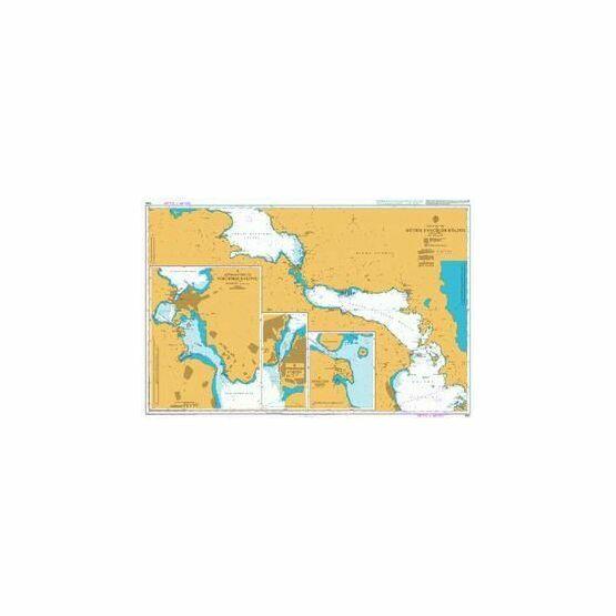 1554 Notios Evvoikos Kolpos Admiralty Chart