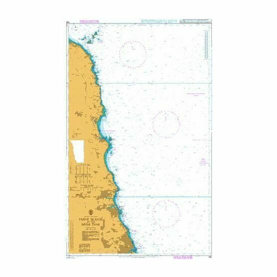 156 Farne Islands to the River Tyne Admiralty Chart