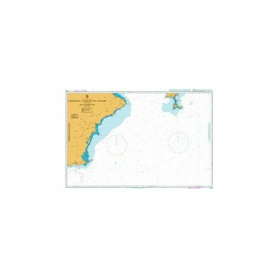 1700 Cartagena to Cabo de Antonio including Formentera Admiralty Chart