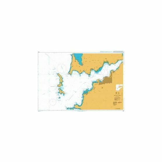 1730 Ria de Vigo Admiralty Chart