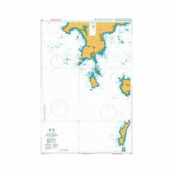 1734  Approaches to Ria de Arosa Admiralty Chart