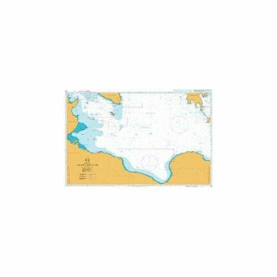 176 Cap Bon to Ra\'s At Tin Admiralty Chart