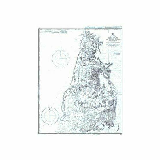 1812 West Coast of Pemba Island including Ports Kiuyu- George and Cockburn and Chake Chake Bay Admiralty Chart