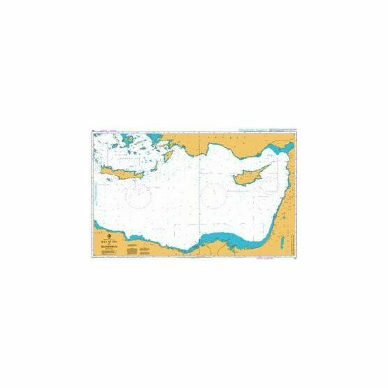 183 Ra\'s At Tin to Iskenderun Admiralty Chart