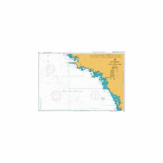 20 Ile d'Oussant to Pointe de la Coubre Admiralty Chart