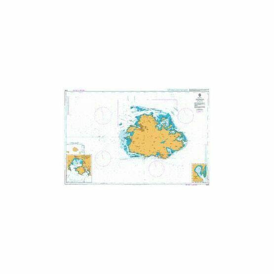2064 Antiqua Admiralty Chart