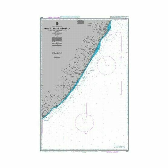 2087 Port St John's to Durban Admiralty Chart
