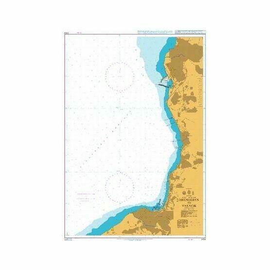 2104 Iskenderun to Yakacik Admiralty Chart