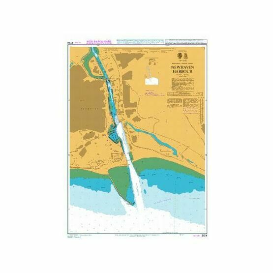 2154 Newhaven Harbour Admiralty Chart