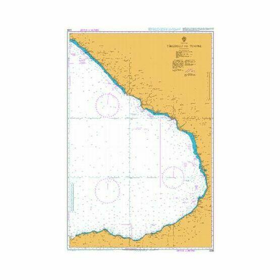 2236 Tirebolu to Tuapse Admiralty Chart