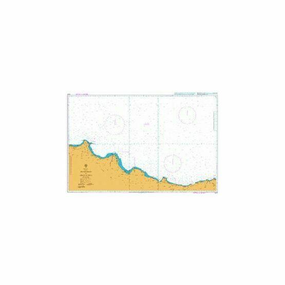 2237 Inceburun to Isikli Burnu Admiralty Chart