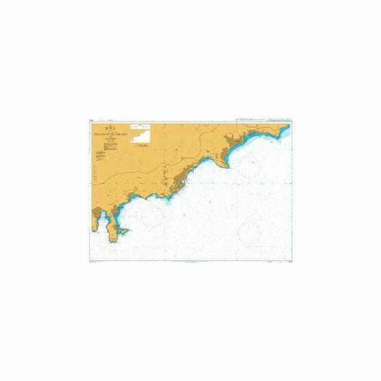 2245 Villefranche - Sur - Mer to Menton Admiralty Chart