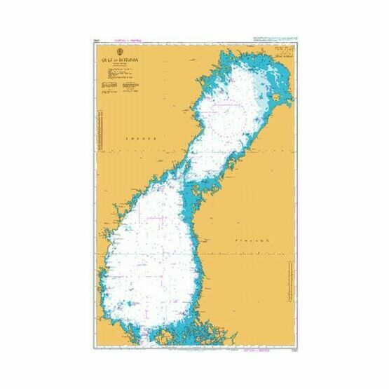 2252 Gulf of Bothnia Admiralty Chart