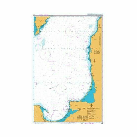 2288 Rozewie to Ventspils Admiralty Chart