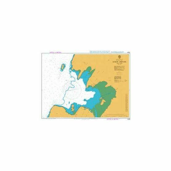 2320 Loch Crinnan Admiralty Chart