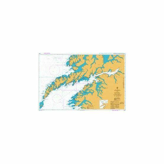 2327 Vaeroya to Litloya including Vestfjorden to Narvik Admiralty Chart