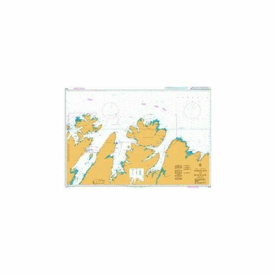 2330 Norway-North Coast Nordkepp-Makkaur Admiralty Chart