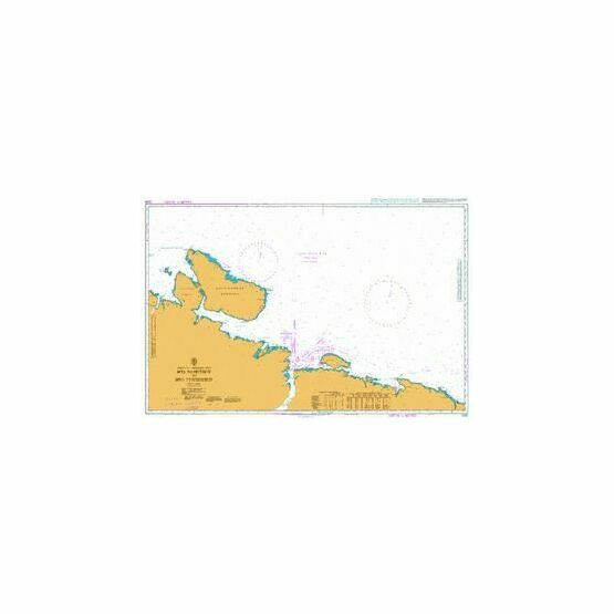 2333 Mys Nemetskiy to Mys Teriberskiy Admiralty Chart