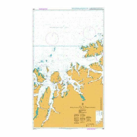 2368 Fugloykalven to Soroysundet Admiralty Chart