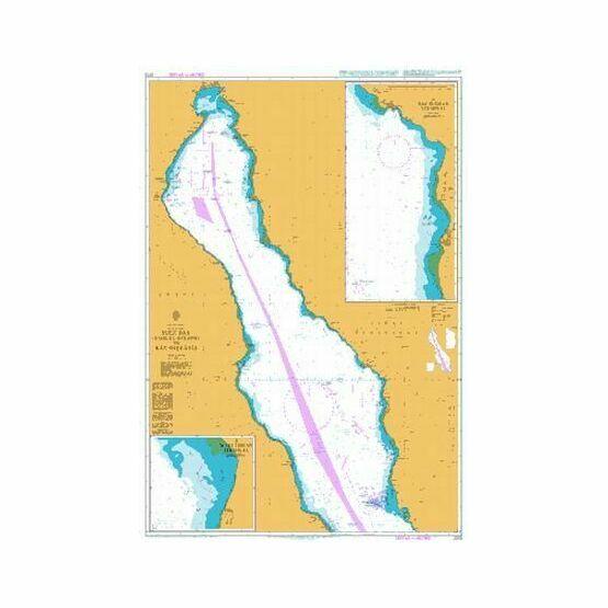 2373 Suez Bay (Bahr el Qulzum) to Ras Sheratib Admiralty Chart