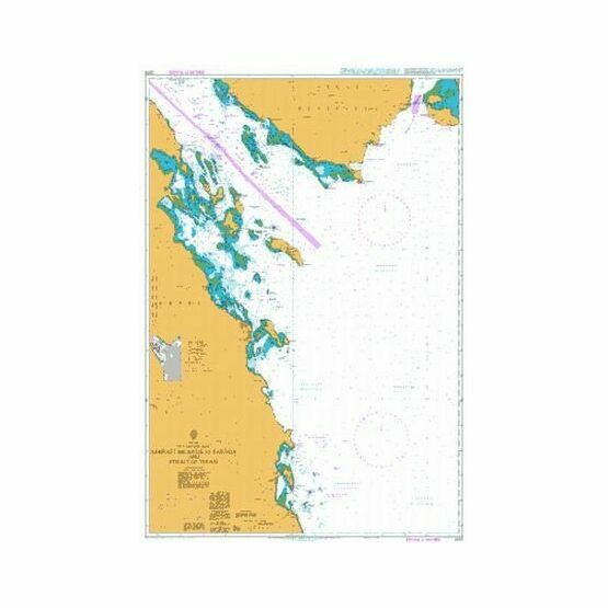 2375 Ashrafi Islands to Safaga and Strait of Tiran Admiralty Chart
