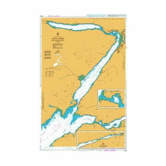 2380 Loch Linnhe - Northern Part Admiralty Chart