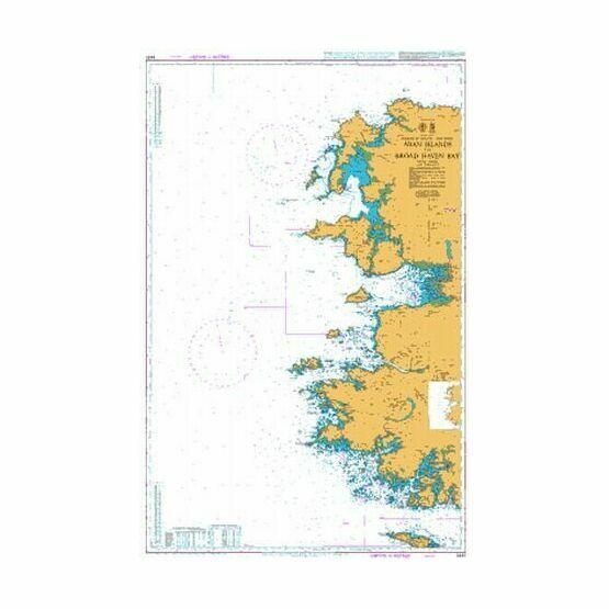 2420 Aran Islands to Broad Haven Bay Admiralty Chart