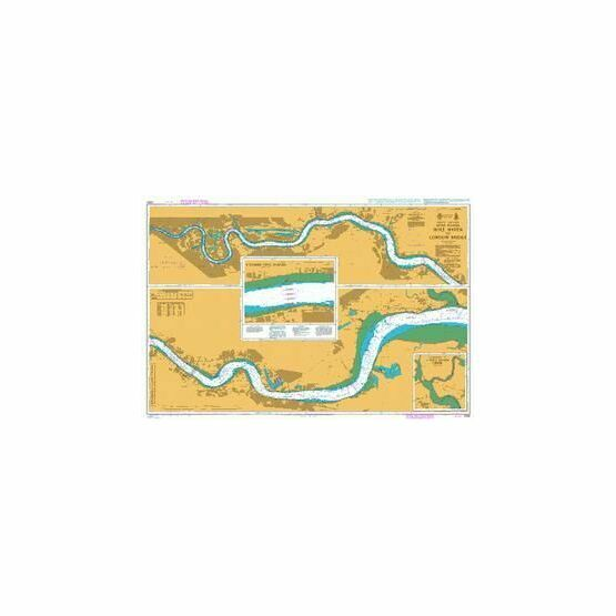 2484 River Thames - Hole  Haven to London Bridge Admiralty Chart