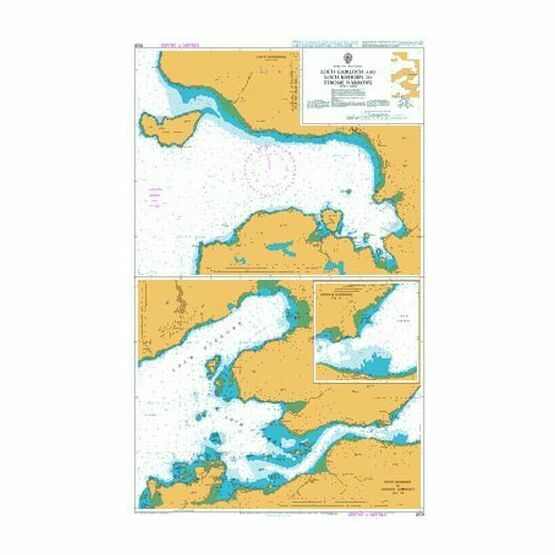 2528 Loch Gairloch and Loch Kishorn to Strome Narr Admiralty Chart