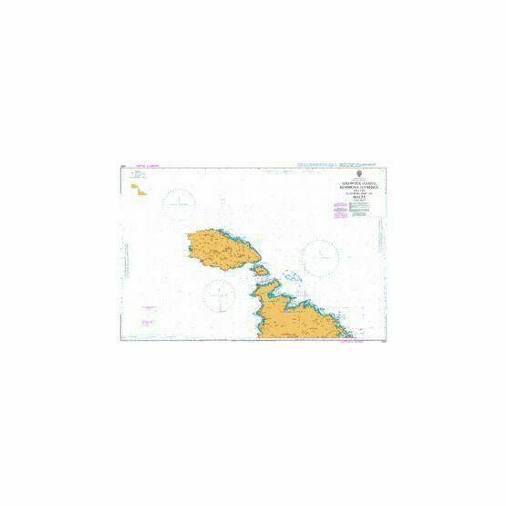 2537 Ghawdex (Gozo), Kemmuna (Comino) and Northern Malta Admiralty Chart