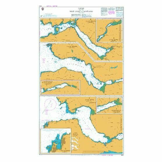2541 Lochs on the West Coast of Scotland Admiralty Chart