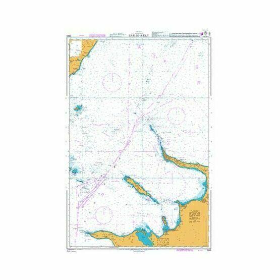 2589 Samso Baelt Admiralty Chart