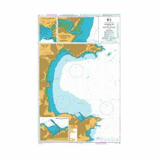 26 Harbours on the South Devon Coast Admiralty Chart
