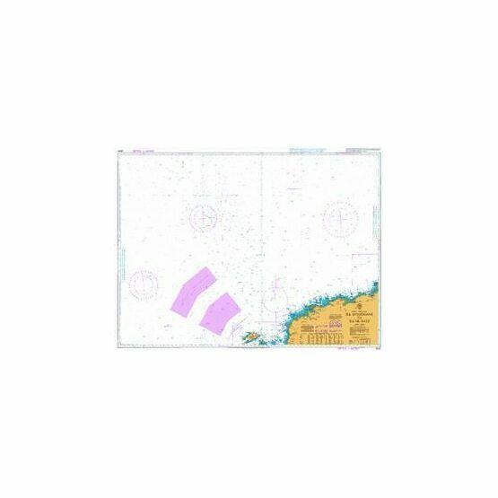 2647 Ile d'Ouessant to Ile de Batz Admiralty Chart