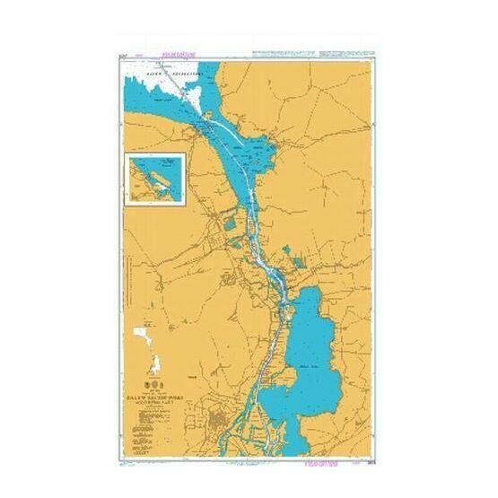 2678 Zalew Szczecinski- Southern Part Admiralty Chart