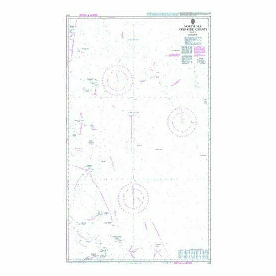 274 North Sea Offshore ChartsSheet 6 Admiralty Chart