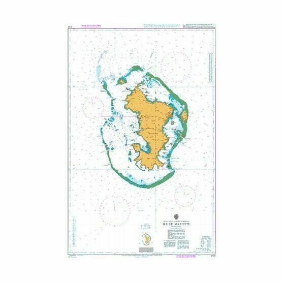 2741 Ile Mayotte Admiralty Chart