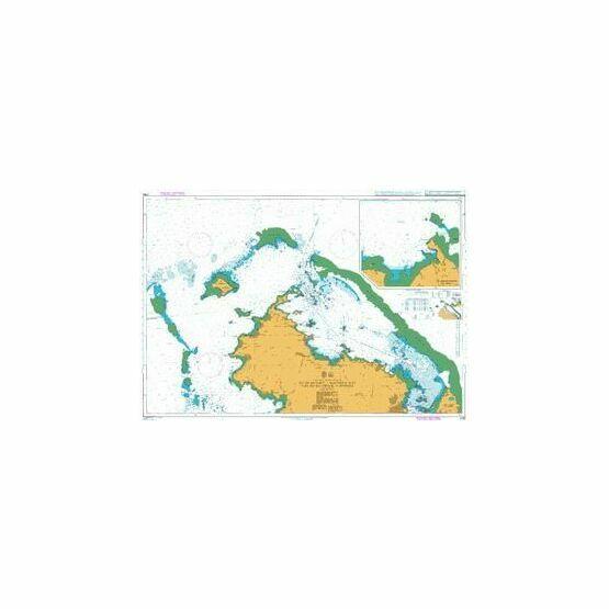 2756 Ille de Mayotte - Northern Part - Passe des Iles Choazil to Dzaoudzi Admiralty Chart
