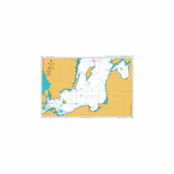 2816 Baltic Sea - Southern Sheet Admiralty Chart